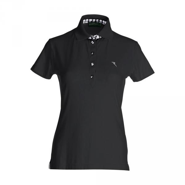 Polo Woman ACINOREV 59738 BLACK Chervò
