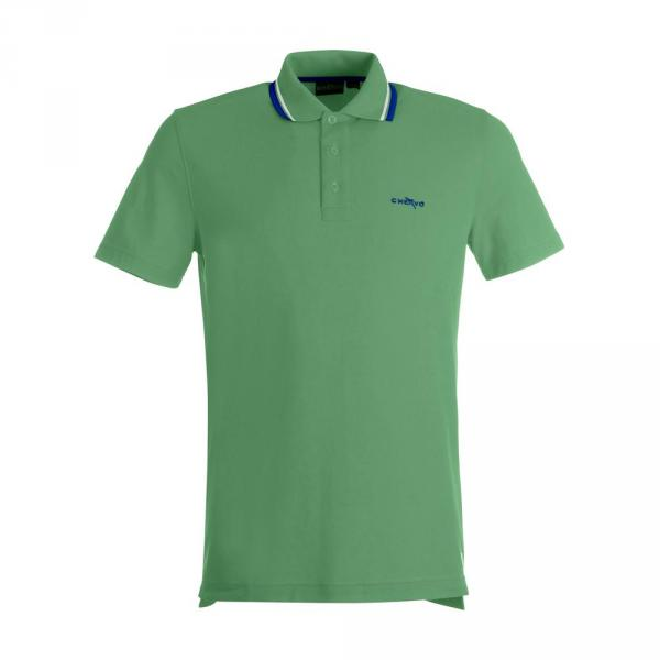 Polo Homme AFFETTO 59315 CHLOROPHILL GREEN Chervò