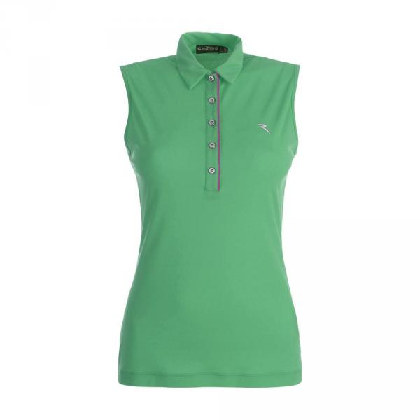 Polo Woman AFRICA 59902 CHLOROPHILL GREEN Chervò
