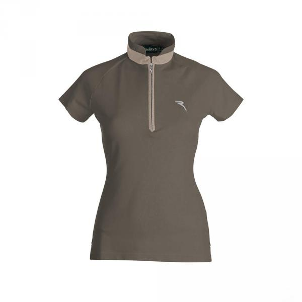Polo Donna AFRO 59836 MARRONE WOOD Chervò