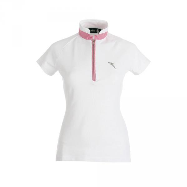 Polo Woman AFRO 59836 WHITE FUCHSIA Chervò