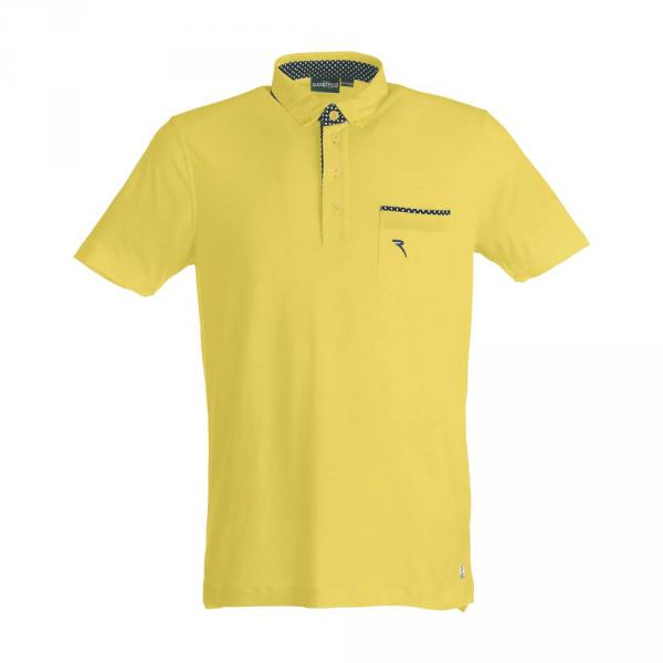Polo Man ALA 59338 CITRON YELLOW Chervò