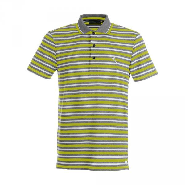 Polo Homme ALBERTO 59345 GREY GREEN Chervò