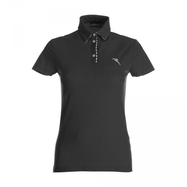 Polo Woman ALLERGIA 59740 BLACK Chervò