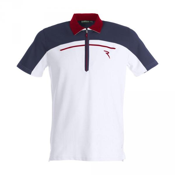 Polo Homme ALTURA 59320 WHITE BLUE RED Chervò