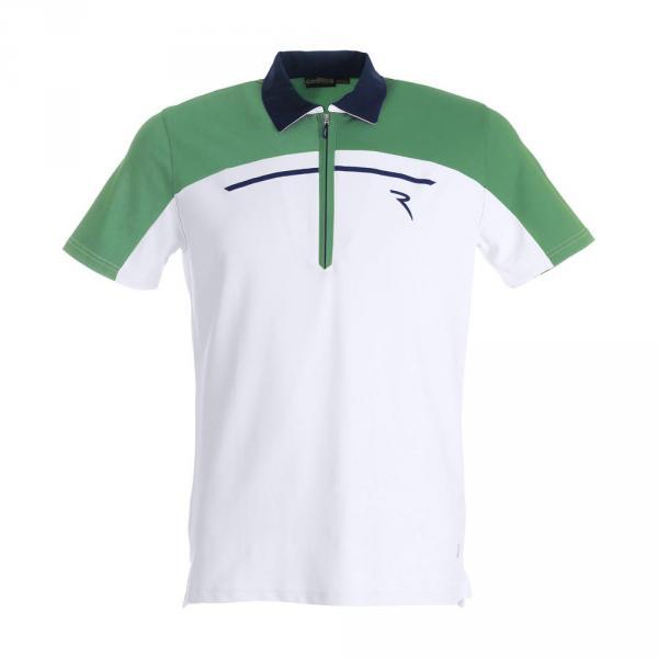 Polo Man ALTURA 59320 WHITE GREEN BLUE Chervò