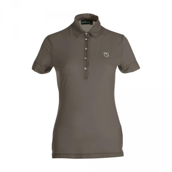 Polo Femme AMBES 59722 WOOD BROWN Chervò