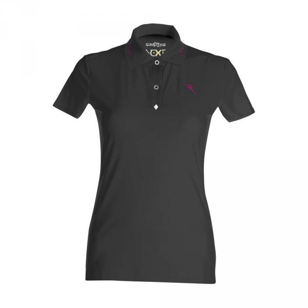 Poloshirt Damen ANALINA 57746 BLACK Chervò