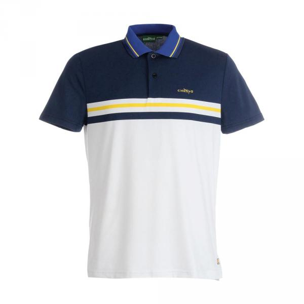 Polo Man ANAREA 59333 BLUE WHITE Chervò