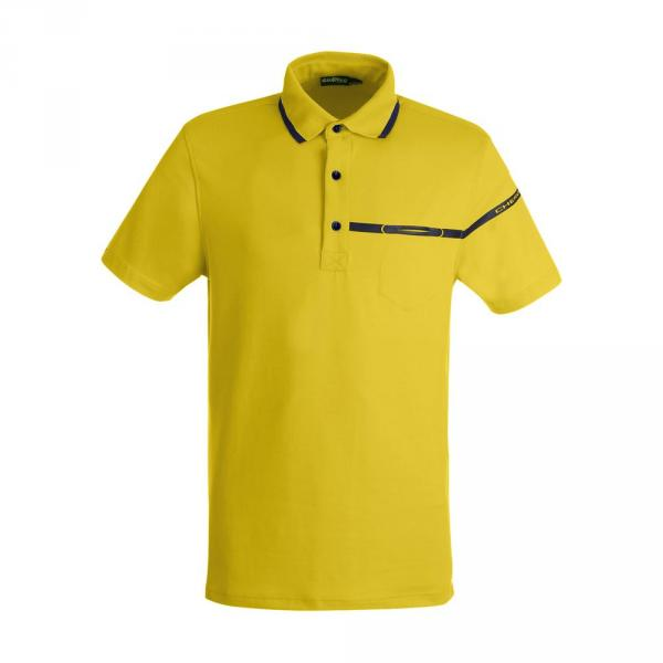 Polo Man ANETO 59357 CITRON YELLOW Chervò