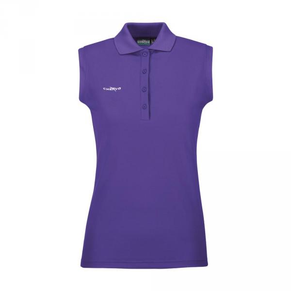 Poloshirt Damen ANZORIGHT 57464 JAZZ PURPLE Chervò