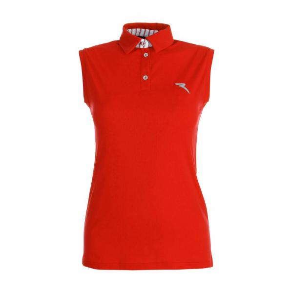Poloshirt Damen ASTUTO 59741 FLORIDA ORANGE Chervò