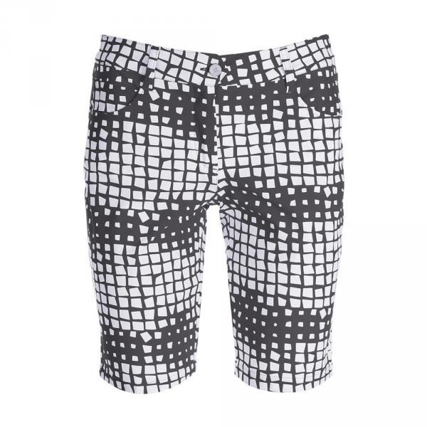 Shorts Woman GAMBA 59769 BLACK WHITE Chervò