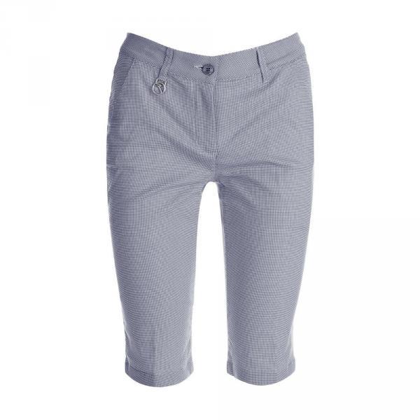 Shorts Woman GINA 59747 WHITE BLUE Chervò