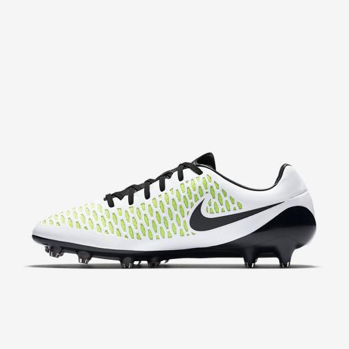 Nike Chaussures De Football Magista Opus Fg WHITE BLACK Tifoshop