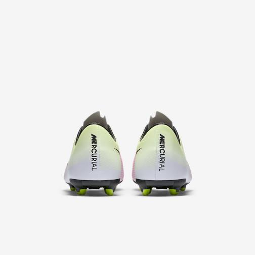 Nike Scarpe Calcio Mercurial Victory V Fg Jr  Junior Bianco Nero Tifoshop