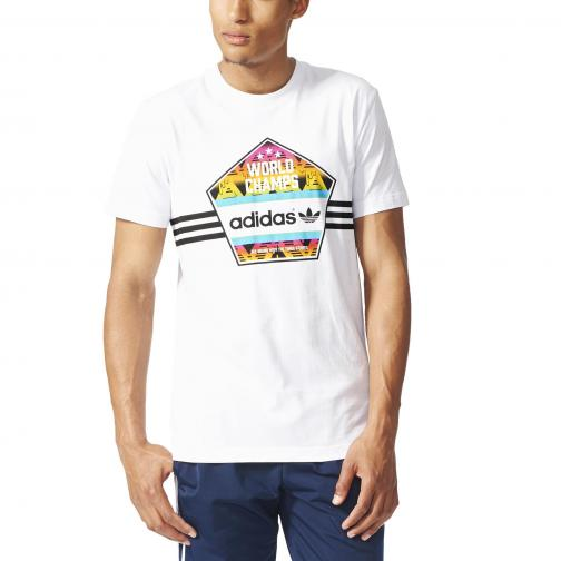 Adidas Originals T-shirt World Champs Tee White