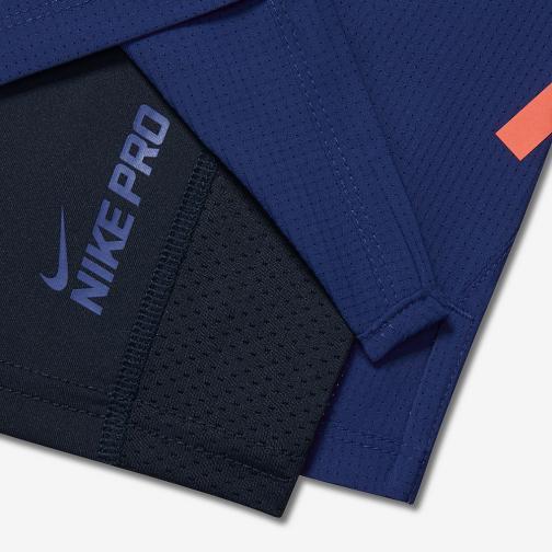 Nike Shorts 18 Cm Phenom 2-in-1 DEEP ROYAL BLUE/OBSIDIAN/REFLECTIVE SILV Tifoshop