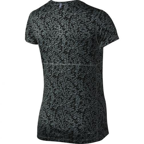 Nike T-shirt Pronto Miler Crew  Damenmode COOL GREY/REFLECTIVE SILV Tifoshop