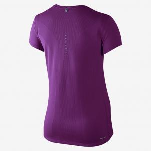 Nike T-shirt Nike Dri-fit Contour Short-sleeve  Damenmode