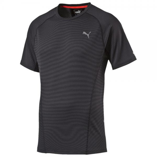 Puma T-shirt Faster Than You S/s Tee black