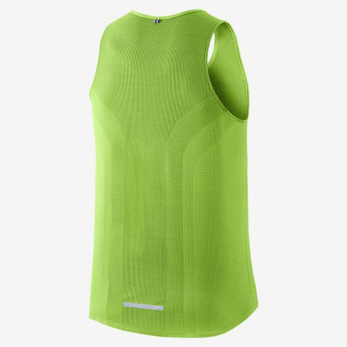 Nike Unterhemd Dri-fit Contour ACTION GREEN/REFLECTIVE SILV Tifoshop