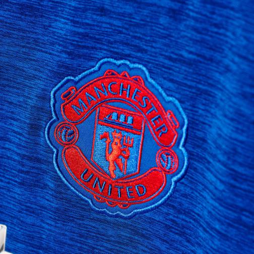 Adidas Maillot De Match Away Manchester United   16/17 Collegiate Royal / Real Red Tifoshop