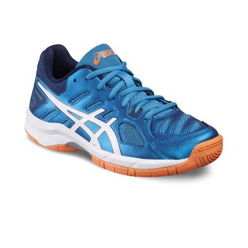 Asics Chaussures Gel-beyond 5 Gs  Enfant BLUE JEWEL/WHITE/HOT ORANGE Tifoshop