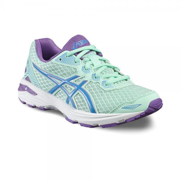 Asics Chaussures Gt-1000 5 Gs  Enfant MINT/BLUE JEWEL/ORCHID Tifoshop