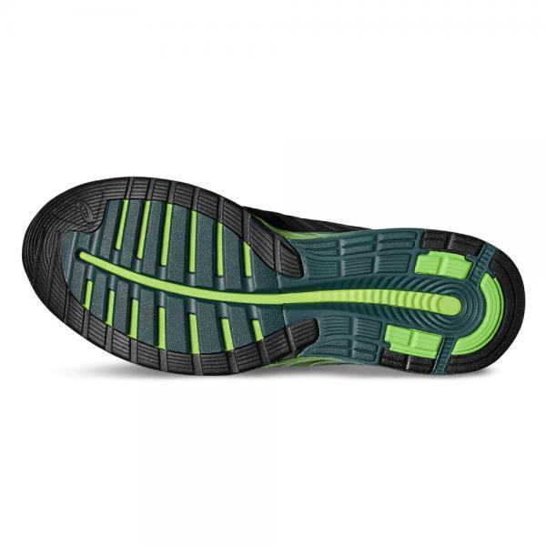 Asics Chaussures Fuzex BLACK/SILVER/GREEN GECKO Tifoshop