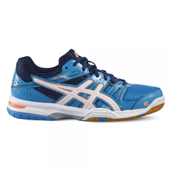 Asics Chaussures Gel-rocket 7  Femmes BLUE JEWEL/WHITE/FLASH CORAL