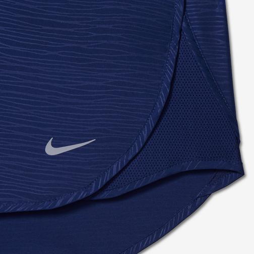 Nike Pantaloncino Nike 3 Tempo Modern Embossed  Donna Blu Tifoshop