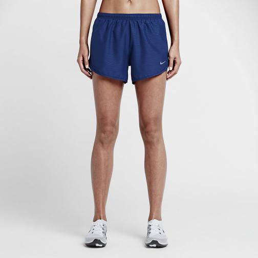 Nike Pantaloncino Nike 3 Tempo Modern Embossed  Donna Blu
