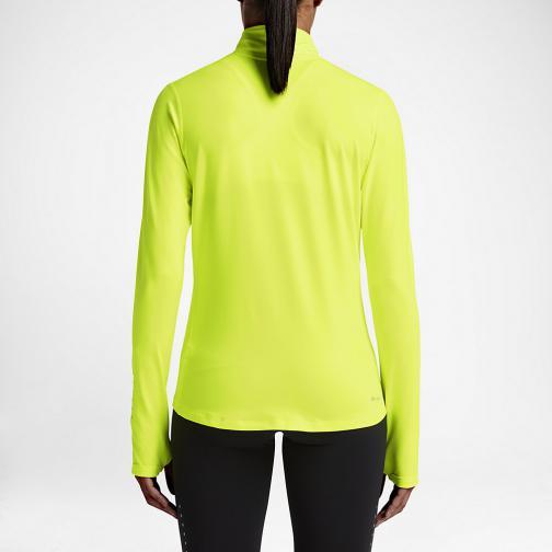 Nike Maglia Element  Donna Giallo Tifoshop