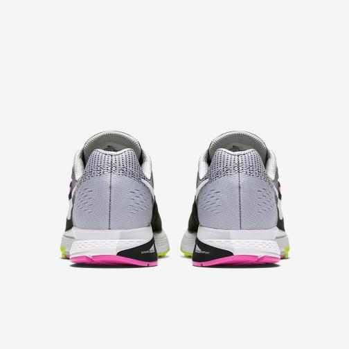 Nike Chaussures Air Zoom Structure 19  Femmes BLACK/WHITE-PINK BLAST-DK PURPLE DUST Tifoshop