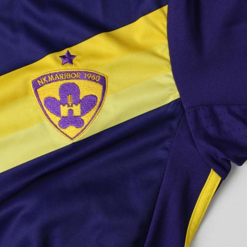 Adidas Maillot De Match Home Nk Maribor   16/17 collegiate purple/yellow Tifoshop