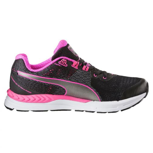 Puma Chaussures Speed 600 Ignite Wn  Femmes Puma Black-Pink Glo-Puma Aged Silver Tifoshop
