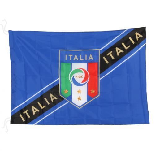 Italy Flag Blue FIGC Store