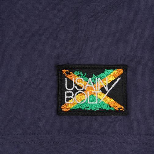 T-shirt Run  Usain Bolt Vintage Navy UsainBolt