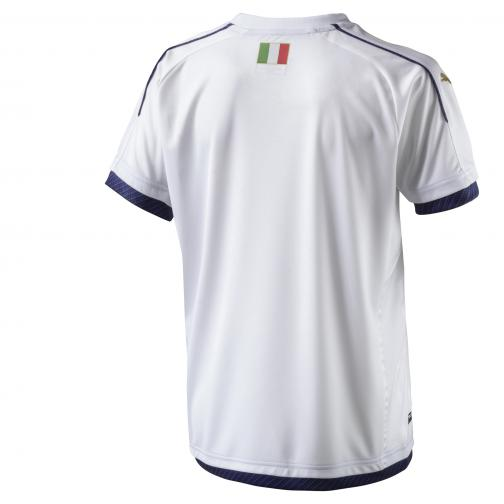 Puma Maillot De Match Away Italy Enfant  16/17 white-peacoat Tifoshop