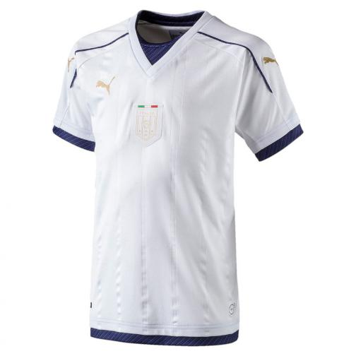Puma Maillot De Match Away Italy Enfant  16/17 white-peacoat