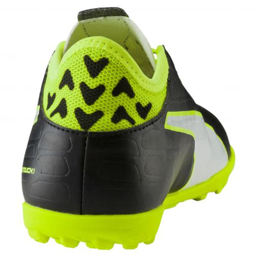 Evotouch 3 Tt Jr black-white-safety yellow FIGC Store