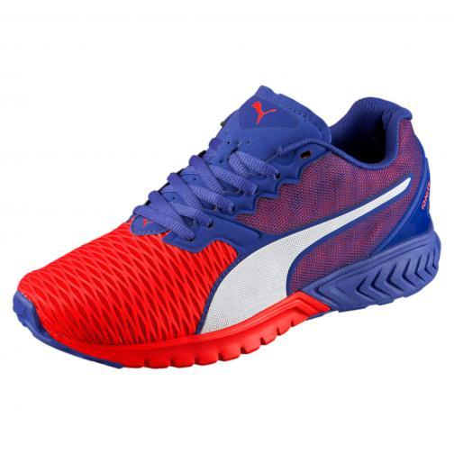 Puma Chaussures Ignite Dual Wn's  Femmes Red Blast-Royal Blue