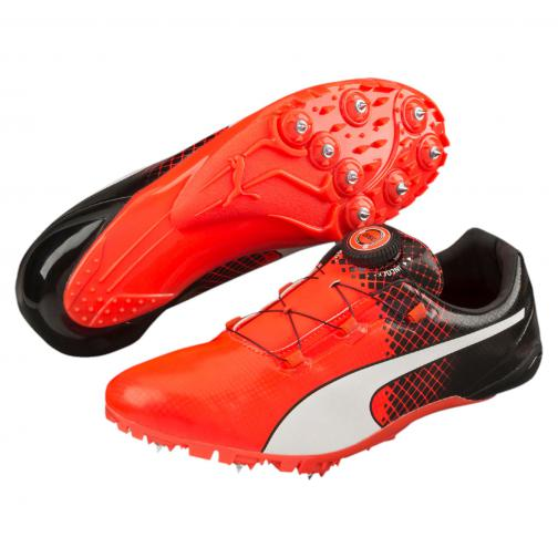Puma Chaussures Evospeed Disc Tricks Puma Black-Red Blast Tifoshop