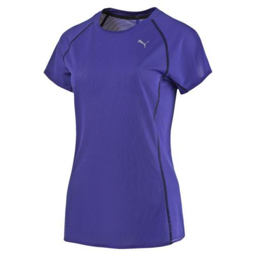 Puma T-shirt Pe_running_s/s Tee W  Donna Blu