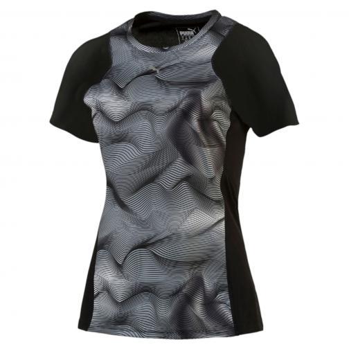 Puma T-shirt Graphic S/s Tee W  Femmes Puma Black