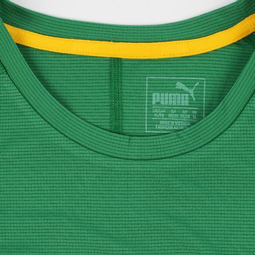 Puma T-shirt Graphic S/s Tee Verde UsainBolt