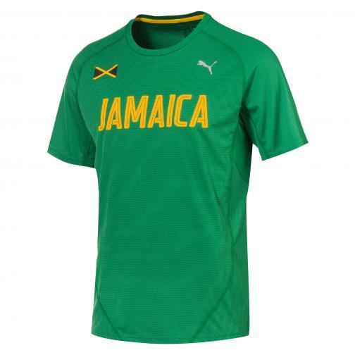 Puma T-shirt Graphic S/s Tee Verde