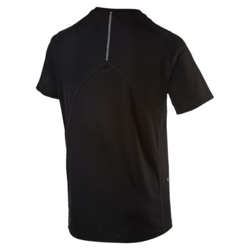Puma T-shirt Run S/s Tee Nero Tifoshop