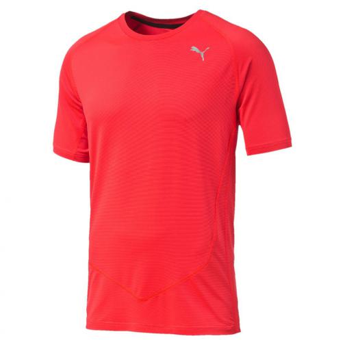 Puma T-shirt Faster Than You S/s Tee Red Blast